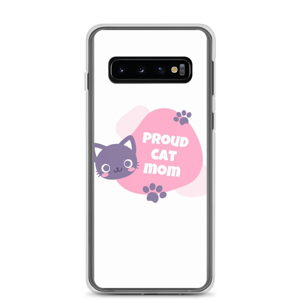 Samsung Galaxy S10 Cat Mom Samsung Case