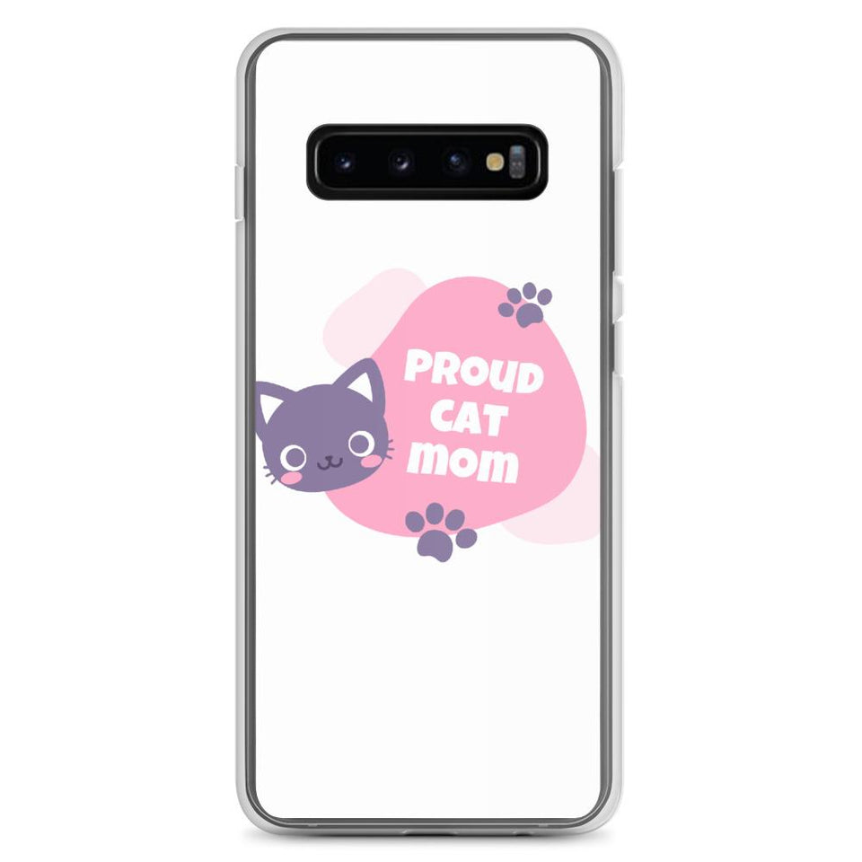 Samsung Galaxy S10+ Cat Mom Samsung Case