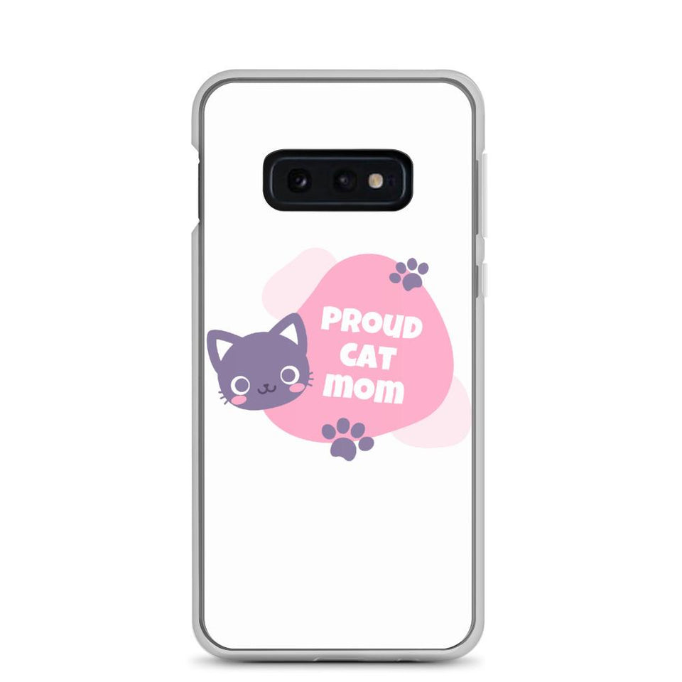 Samsung Galaxy S10e Cat Mom Samsung Case