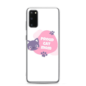 Samsung Galaxy S20 Cat Mom Samsung Case