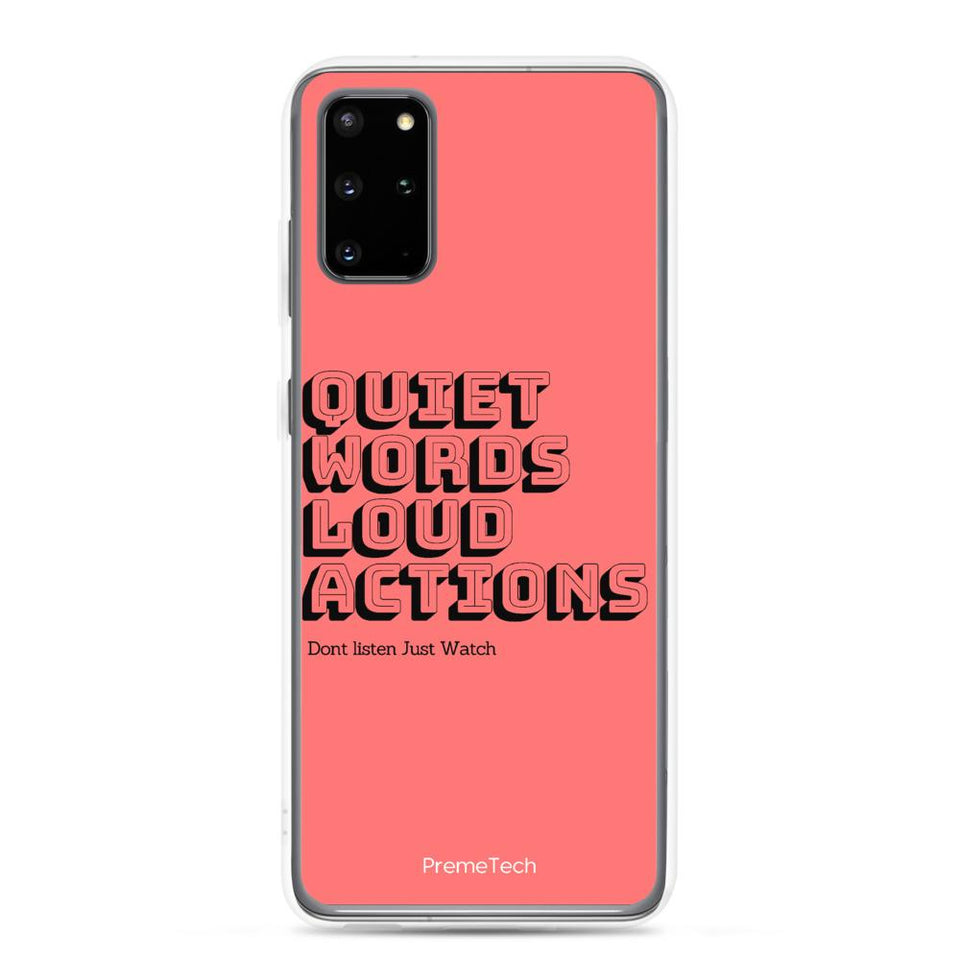 Samsung Galaxy S20 Plus Actions Samsung Case