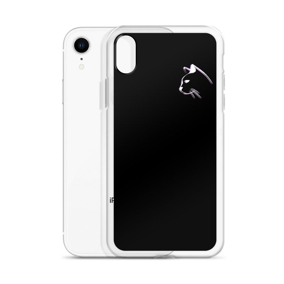 Stenciled Kitten iPhone Case