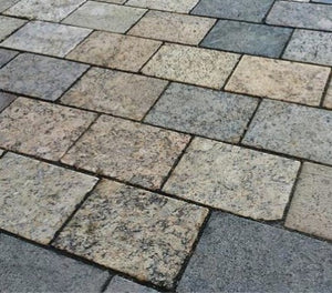 6 x 9 Recycled Granite Pavers