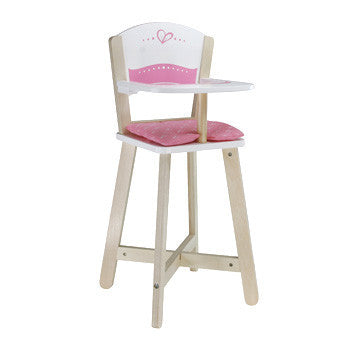 Hape Wooden Dolls Highchair E3600