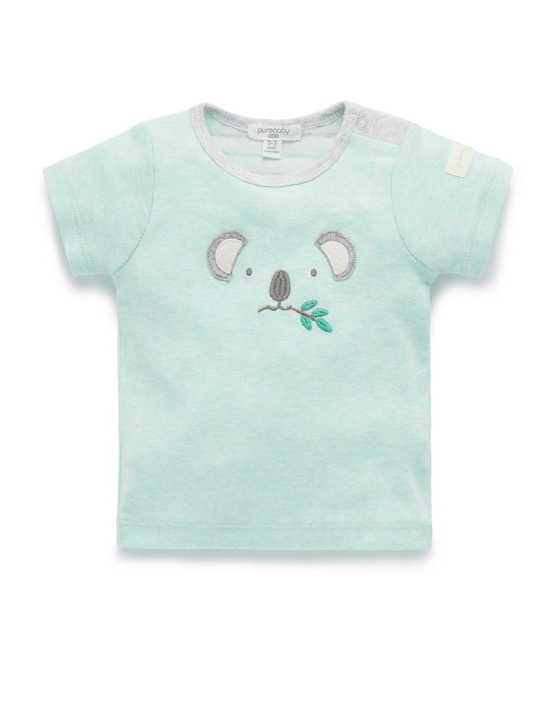 purebaby organic cotton native tee