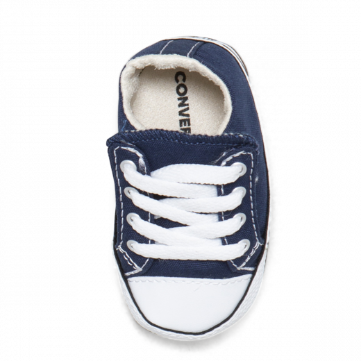 converse baby shoes in navy
