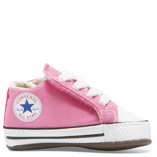 converse baby shoes in pink