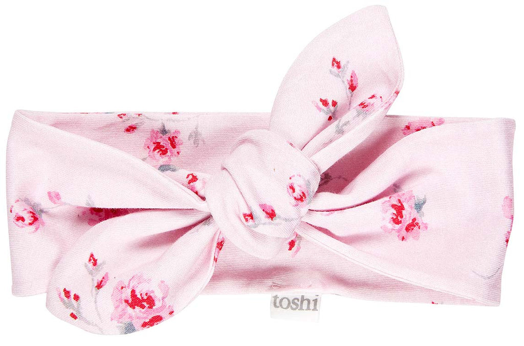 toshi baby headband in rosetta floral print
