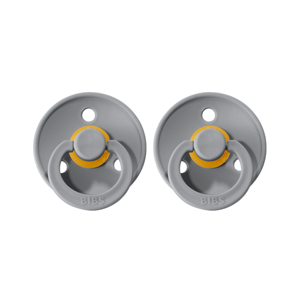 bibs pacifiers 2 pack of baby dummy in cloud grey