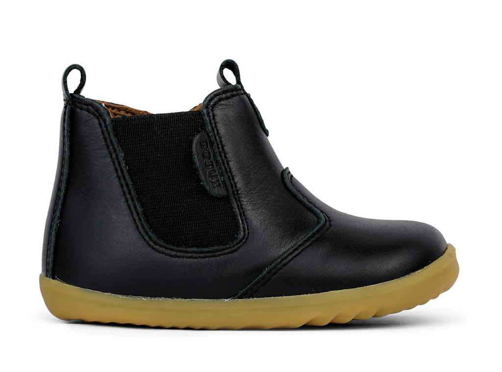 bobux step up jodhpur boot in black