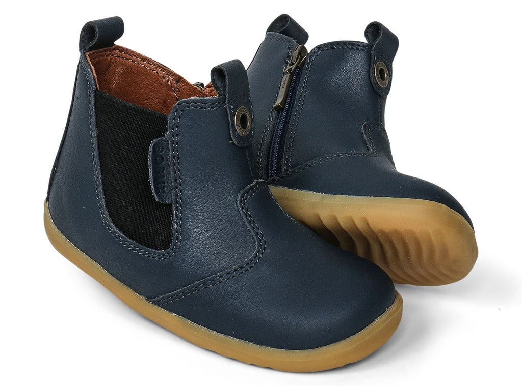 bobux step up jodhpur boots in navy