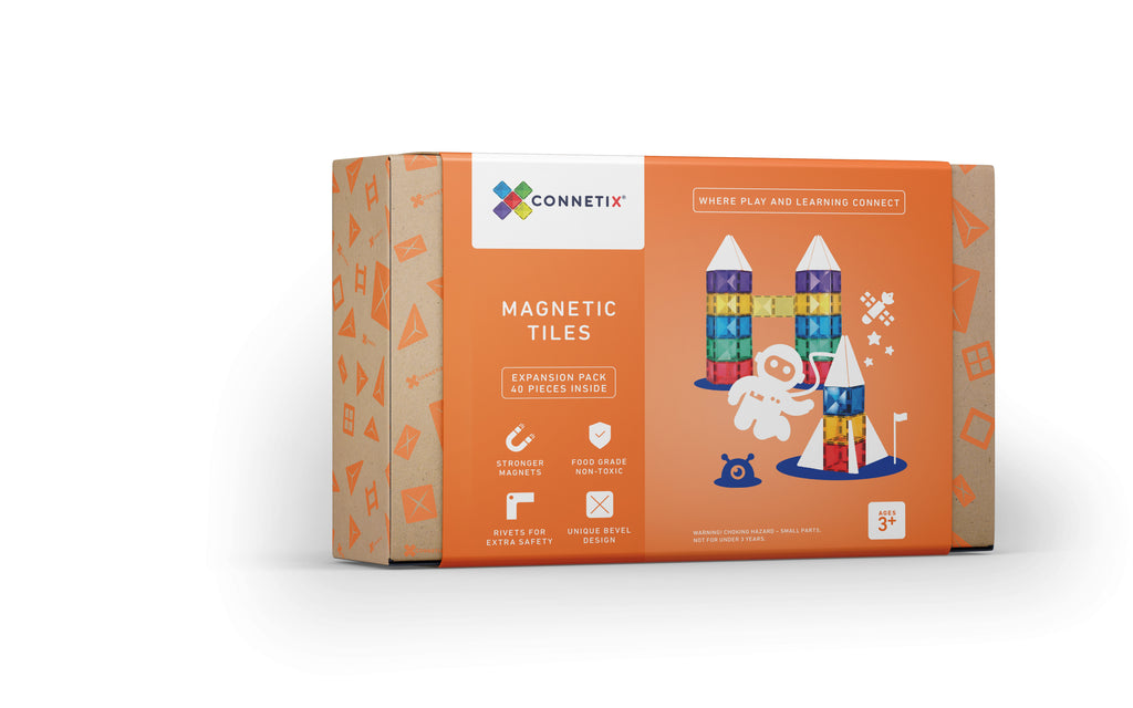 Connetix Tiles 40 Piece Expansion Pack