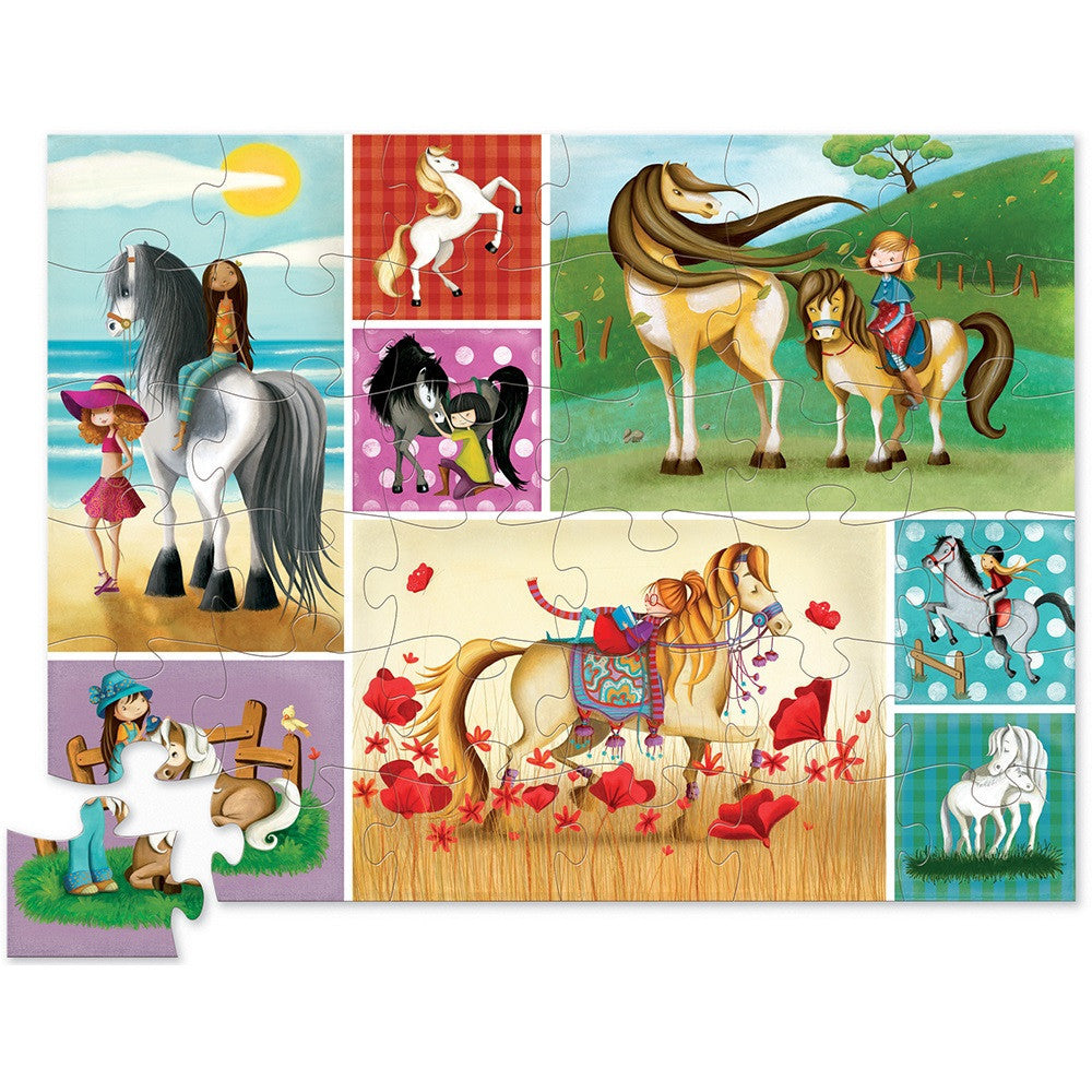 Crocodile Creek Horses Puzzle