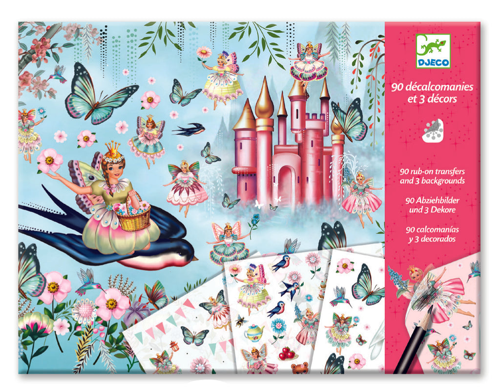 djeco transfers set fairyland