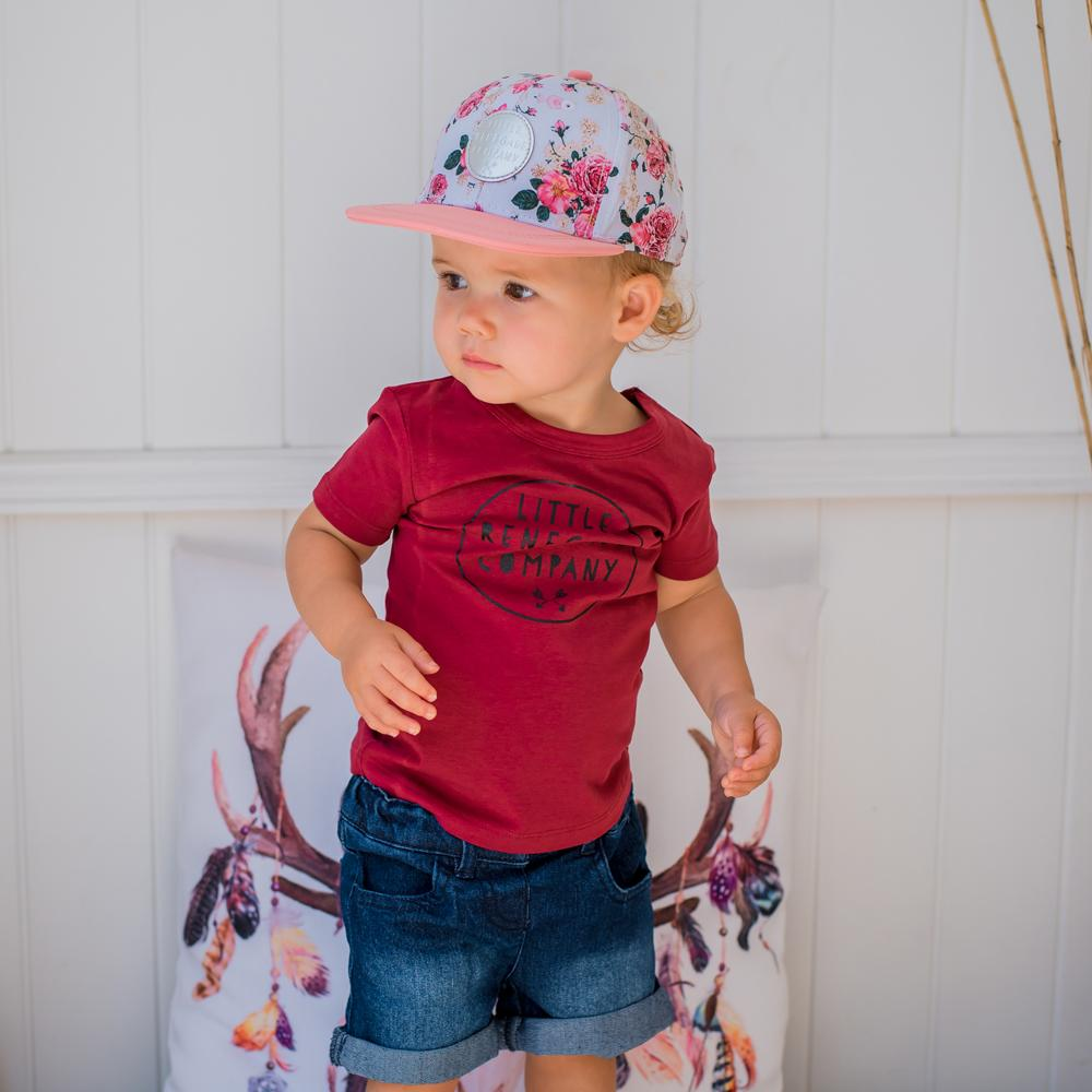 little renegade vintage floral cap