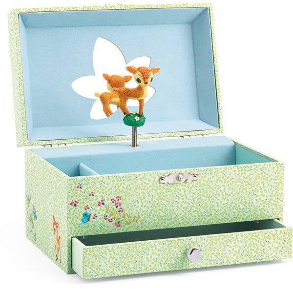 djeco music box fawns