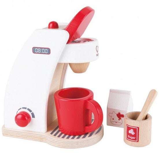 hape wooden coffee maker set