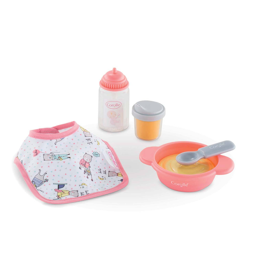 corolle doll meal time set
