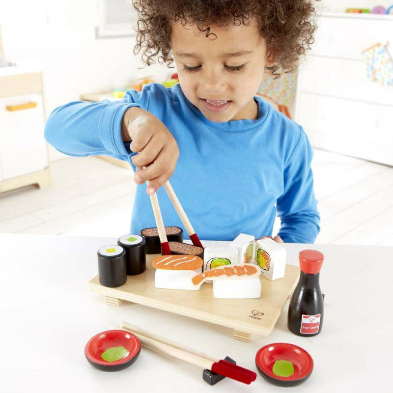 hape sushi play food set