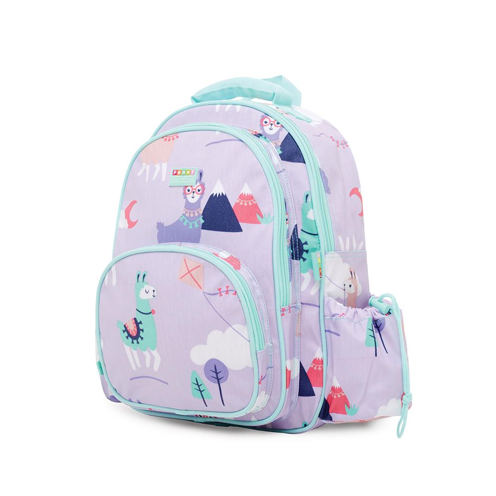 penny scallion large backpack loopy llama