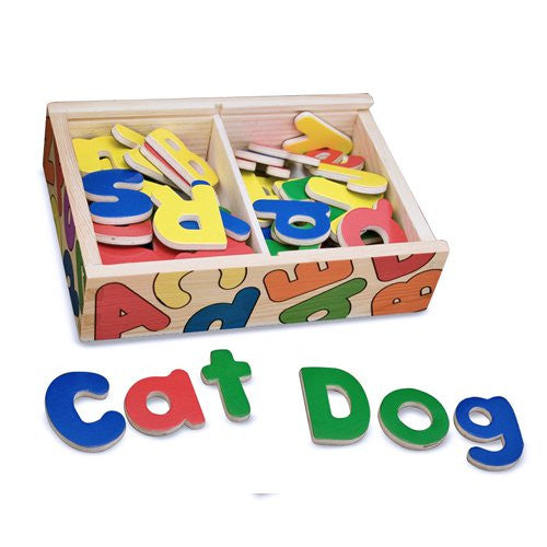M&D Magnetic Wooden Letters 448