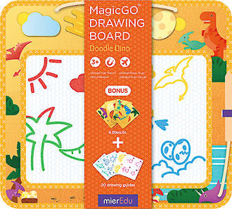 Mieredu  magic go drawing board dinos