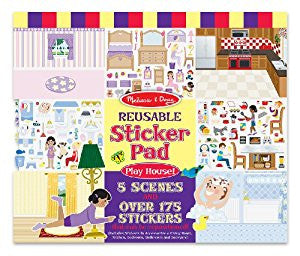 melissa & doug reusable sticker play house theme