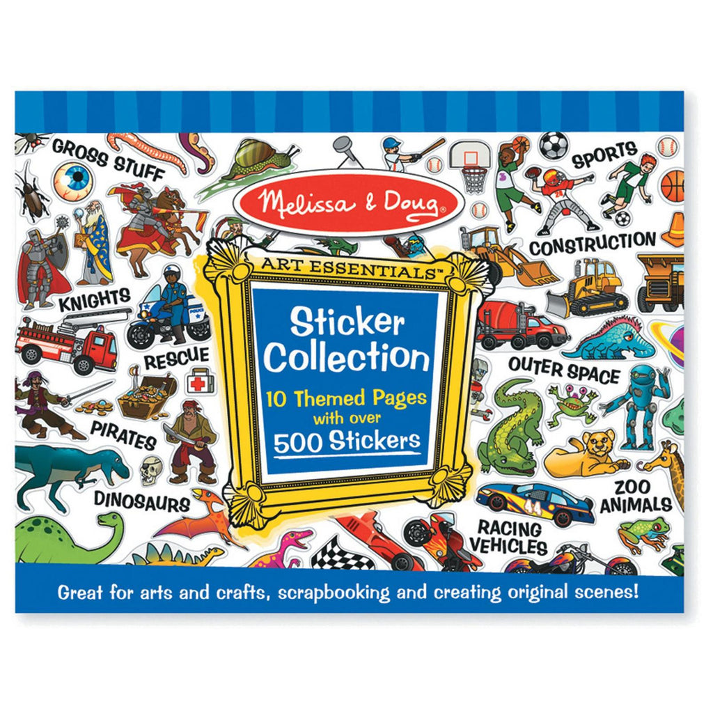 melissa & doug blue collection sticker pad