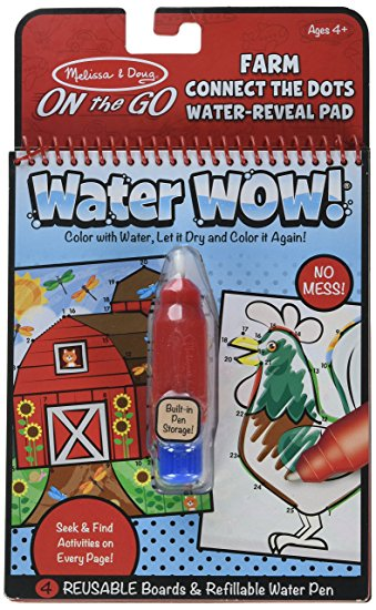melissa & doug water wow join the dots farm