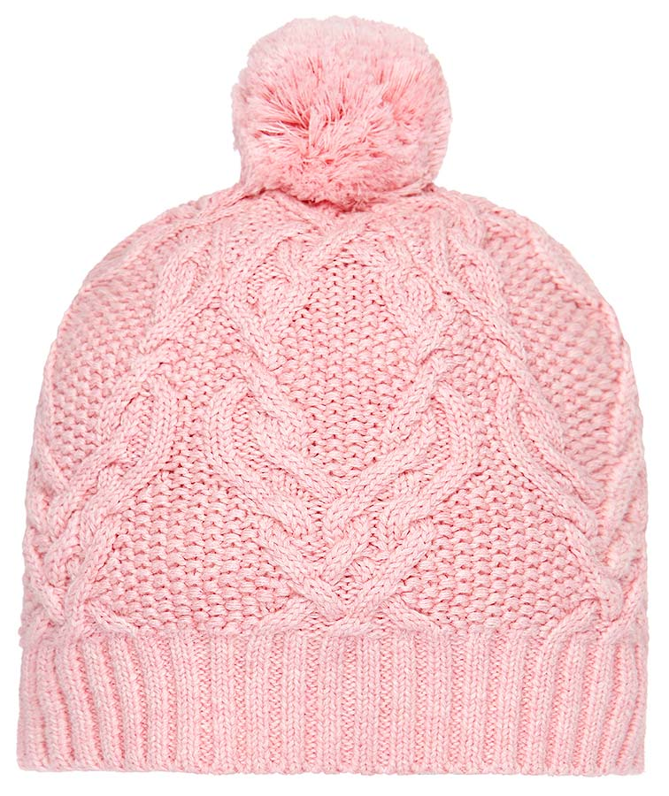 toshi bowie beanie in blush pink