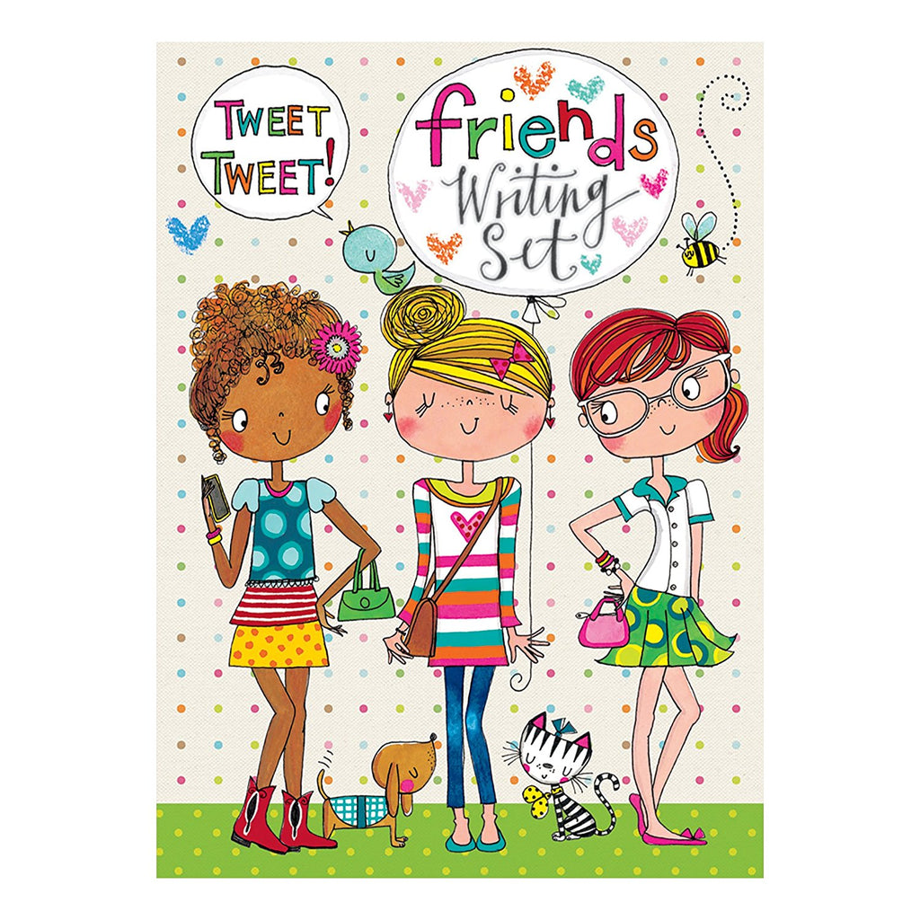 rachel ellen friends writing set
