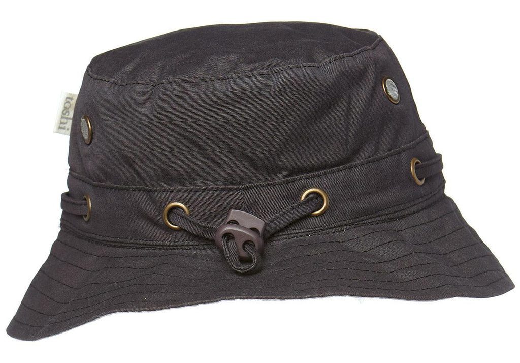 Toshi Boys Sun hat in charcoal
