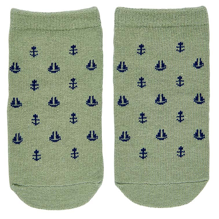 toshi baby socks (nautical)
