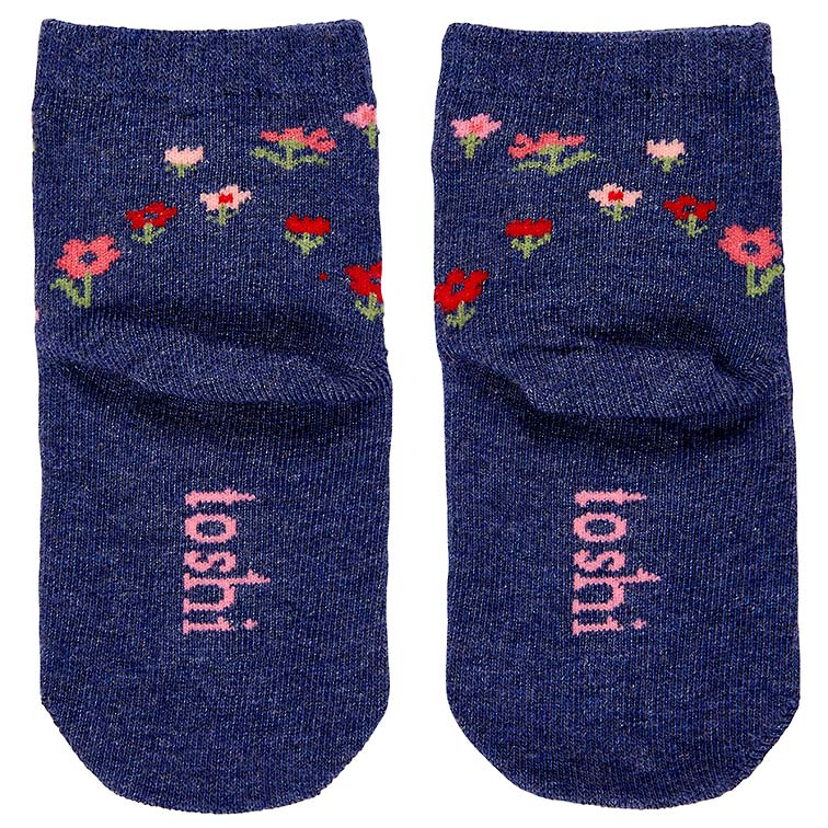 toshi baby socks (periwinkle)