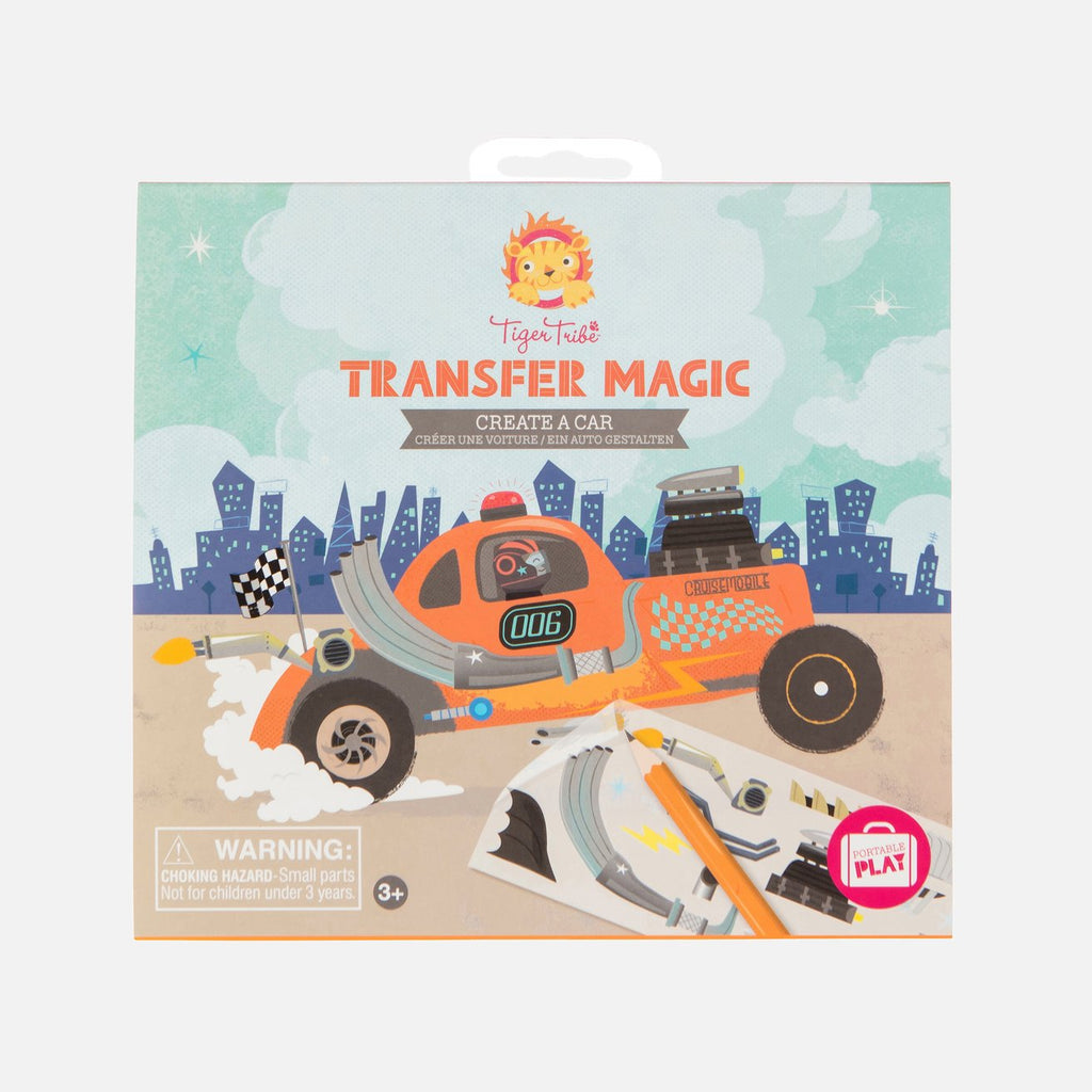 tiger tribe transfer magic create a car