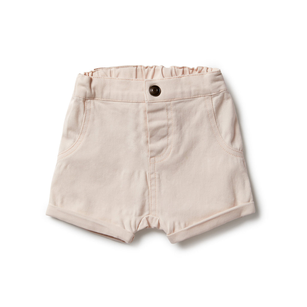 wilson & frenchy rolled shorts in angel wing