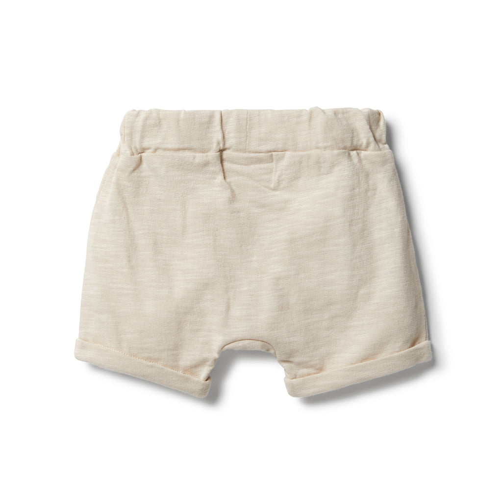 wilson & frenchy slouch shorts in birch