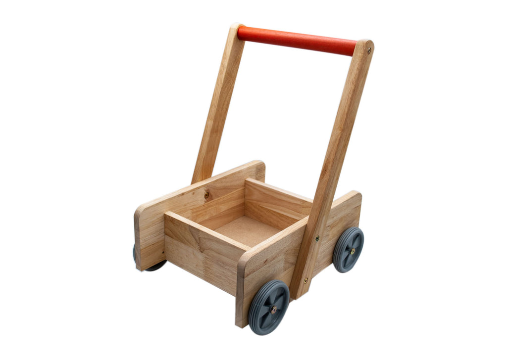 q toys wooden baby walker