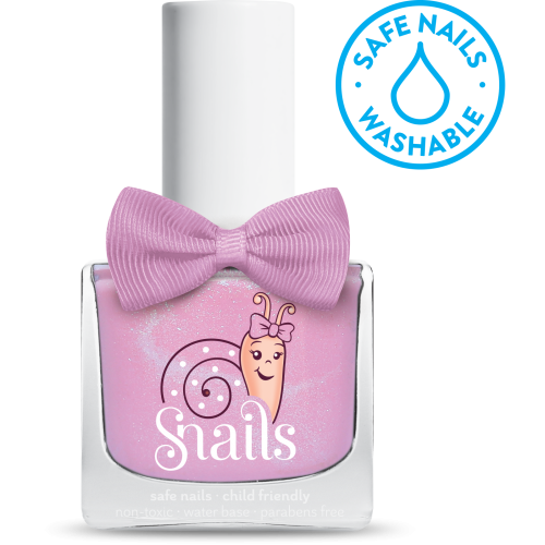 safe nails polish in candy floss pink