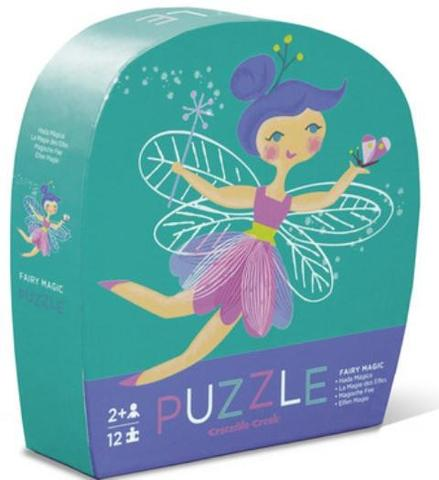 crocodile creek fairy magic mini puzzle