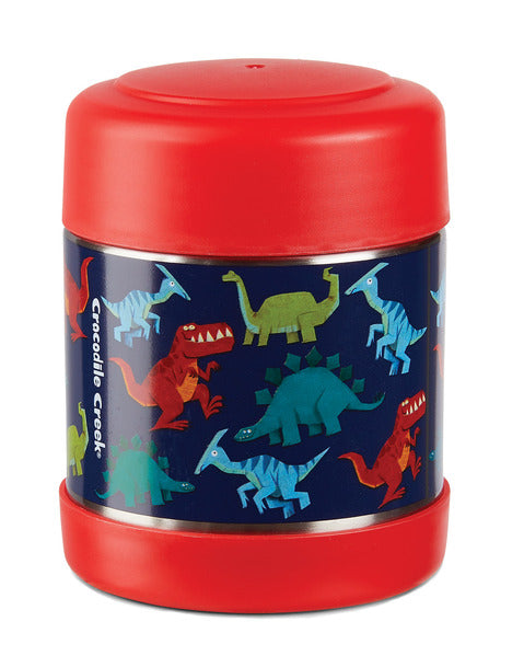 crocodile creek insulated food jar dinosaurs
