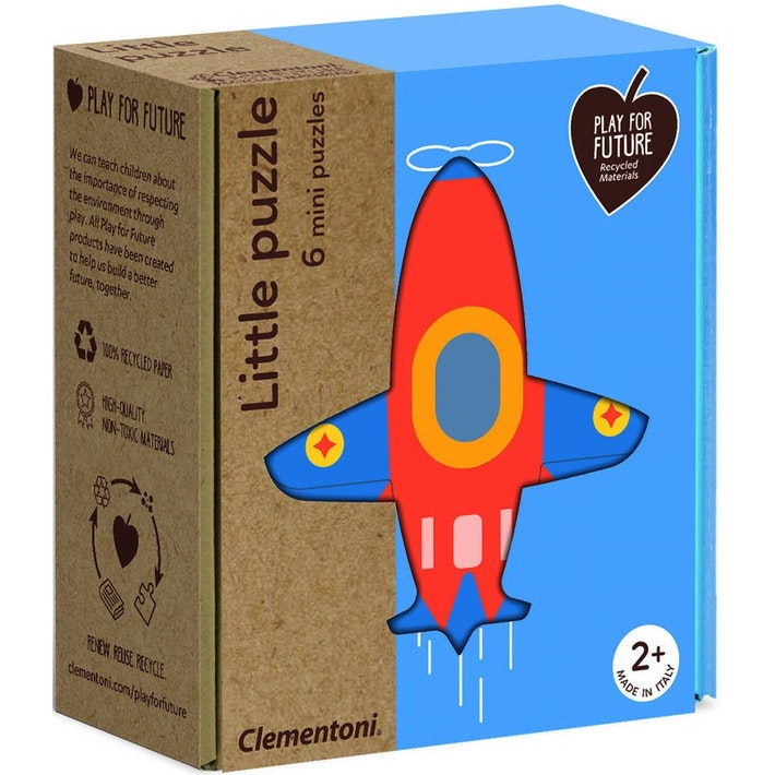 clementoni little puzzles (transport)
