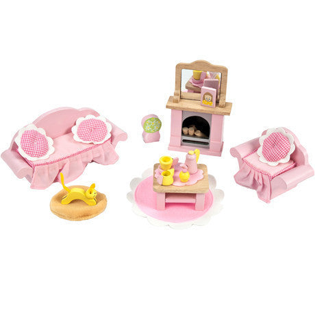 le toy van dolls house furniture daisy lane sitting room