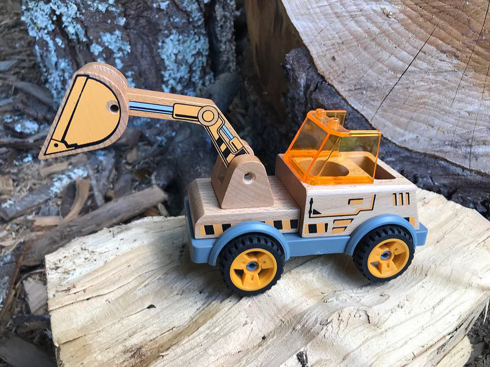 discoveroo build a digger toy