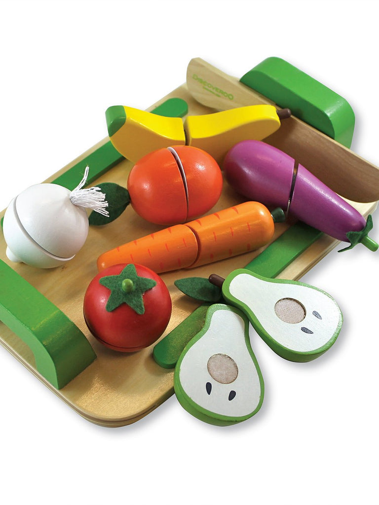 discoveroo chopping fruit & veg set