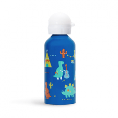 penny scallan drink bottle in dino print