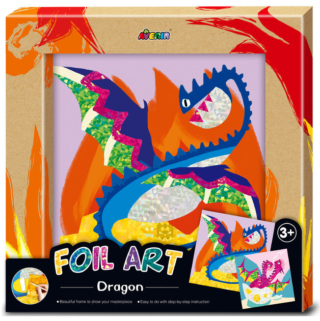 avenir foil art dragon