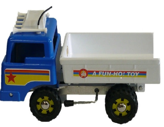 fun ho tip truck in blue