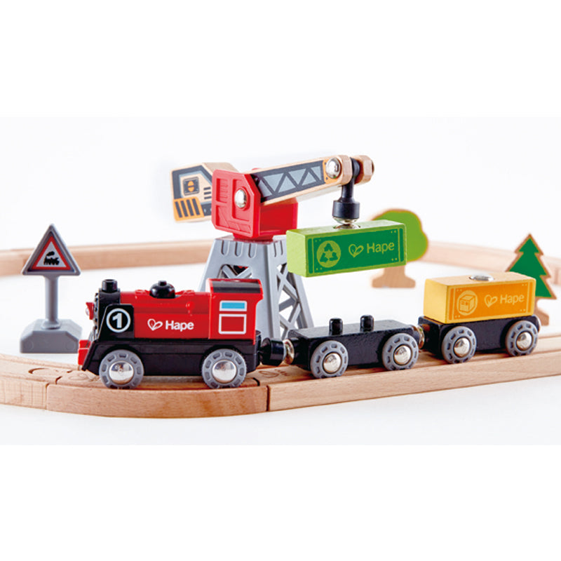 Hape Cargo Delivery Loop Set