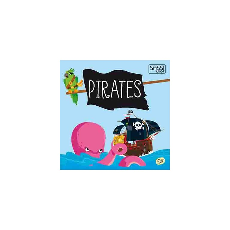 sassi book & giant puzzle set pirates 30 piece puzzle